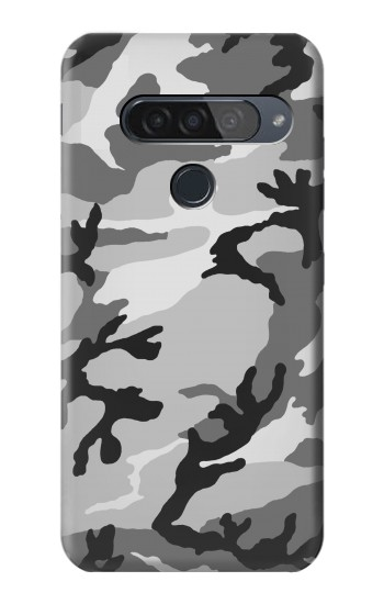 Printed Snow Camo Camouflage Graphic Printed LG G8S ThinQ Case