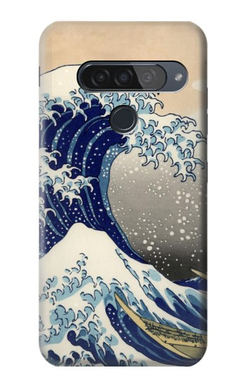 Printed Katsushika Hokusai The Great Wave off Kanagawa LG G8S ThinQ Case