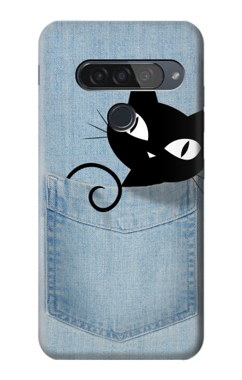 Printed Pocket Cat LG G8S ThinQ Case