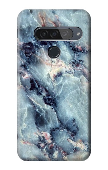 Printed Blue Marble Texture LG G8S ThinQ Case