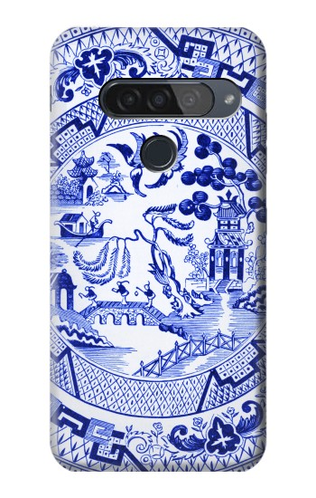Printed Willow Pattern Illustration LG G8S ThinQ Case