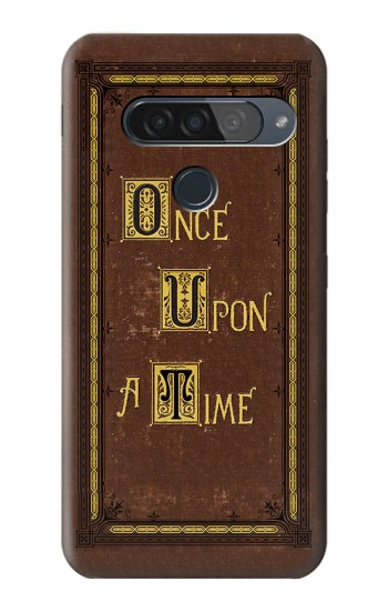 Printed Once Upon a Time Book Cover LG G8S ThinQ Case