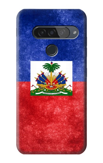 Printed Haiti Flag LG G8S ThinQ Case