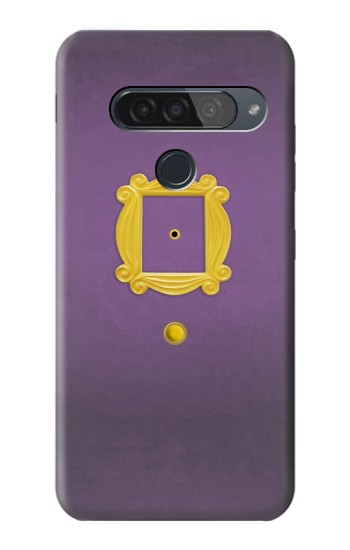 Printed Friends Purple Door Minimalist LG G8S ThinQ Case