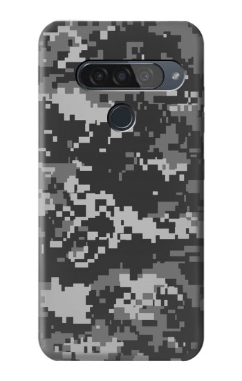 Printed Urban Black Camouflage LG G8S ThinQ Case