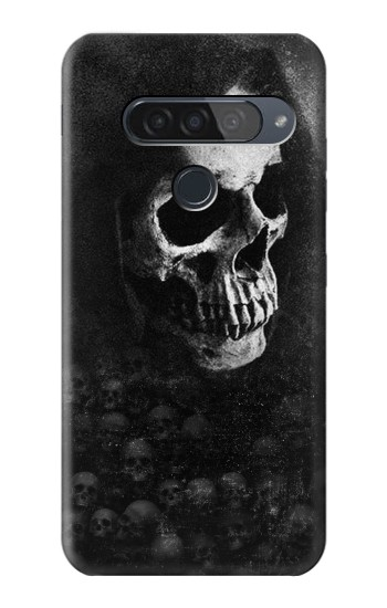 Printed Death Skull LG G8S ThinQ Case