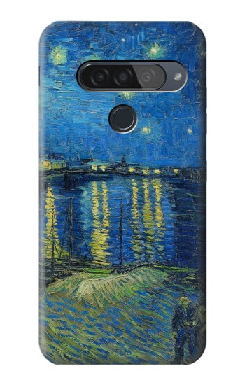 Printed Van Gogh Starry Night Over Rhone LG G8S ThinQ Case