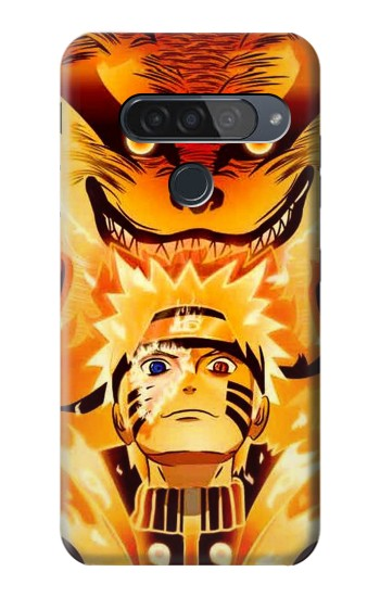 Printed Naruto Kurama Nine Tailed Fox LG G8S ThinQ Case