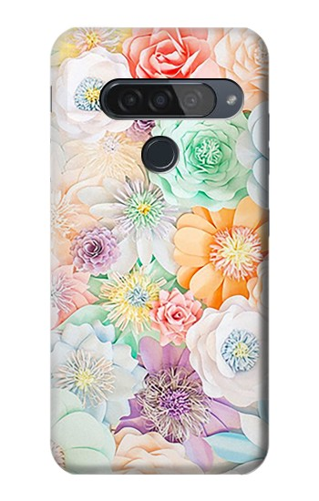 Printed Pastel Floral Flower LG G8S ThinQ Case