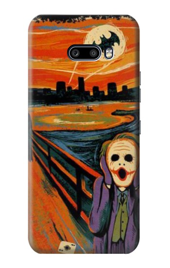 Printed Scream Joker Batman LG G8X ThinQ Case