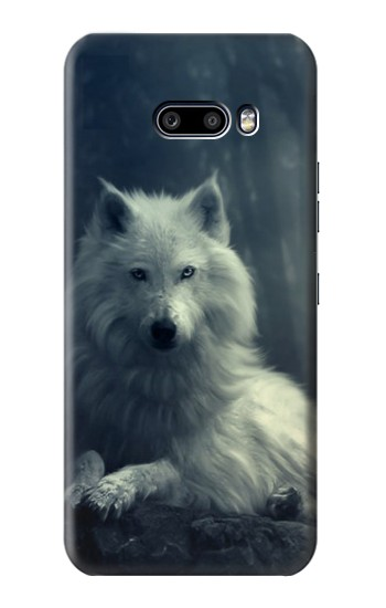 Printed White Wolf LG G8X ThinQ Case