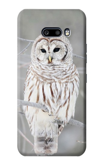 Printed Snowy Owl White Owl LG G8X ThinQ Case