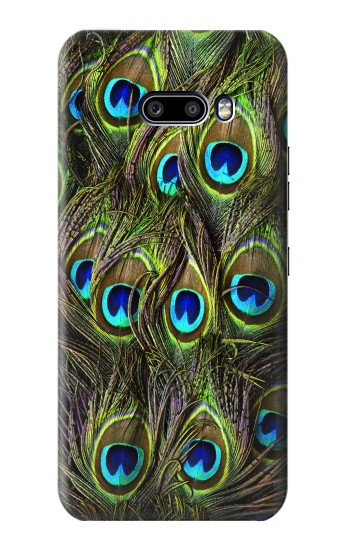 Printed Peacock Feather LG G8X ThinQ Case