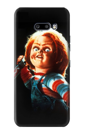 Printed Chucky With Knife LG G8X ThinQ Case
