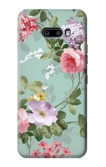 Printed Flower Floral Art Painting LG G8X ThinQ Case