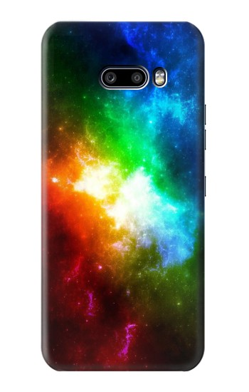 Printed Colorful Rainbow Space Galaxy LG G8X ThinQ Case