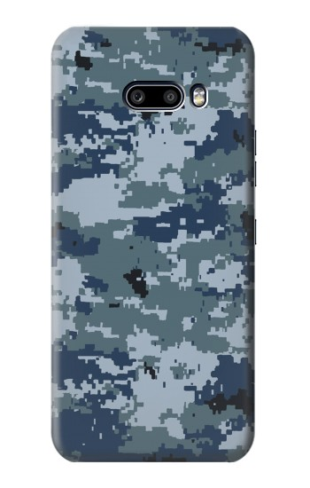 Printed Navy Camo Camouflage Graphic LG G8X ThinQ Case