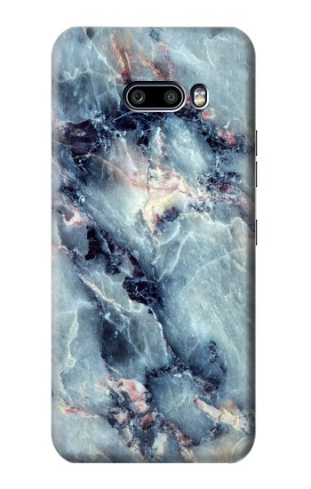 Printed Blue Marble Texture LG G8X ThinQ Case