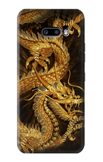 Printed Chinese Gold Dragon Printed LG G8X ThinQ Case