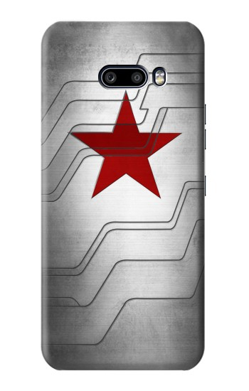 Printed Winter Soldier Bucky Arm Texture LG G8X ThinQ Case
