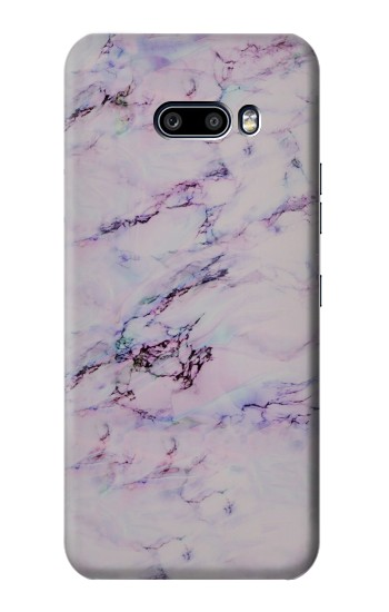 Printed Seamless Pink Marble LG G8X ThinQ Case