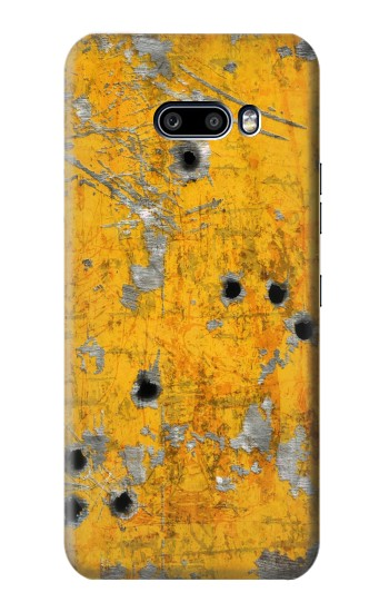 Printed Bullet Rusting Yellow Metal LG G8X ThinQ Case
