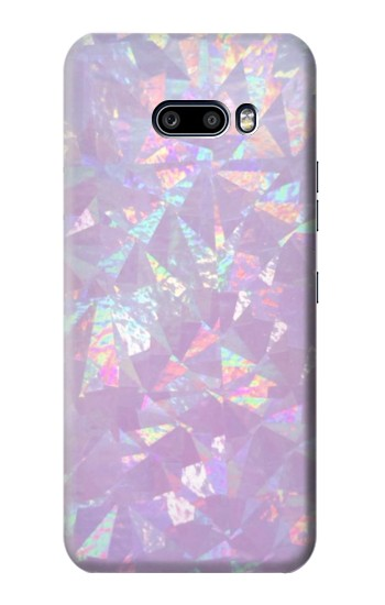 Printed Iridescent Holographic Photo Printed LG G8X ThinQ Case