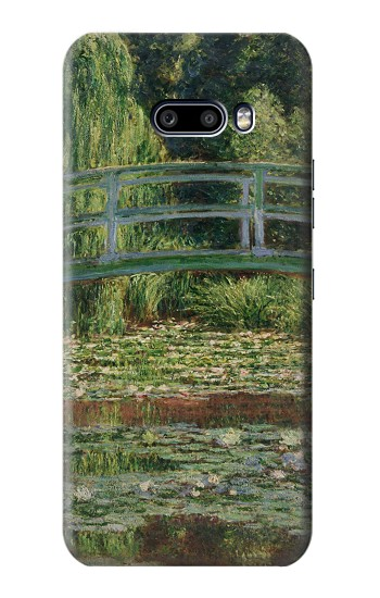 Printed Claude Monet Footbridge and Water Lily Pool LG G8X ThinQ Case