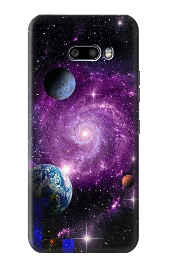 Printed Galaxy Outer Space Planet LG G8X ThinQ Case