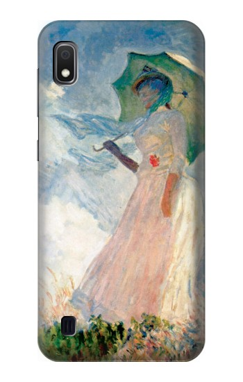 Printed Claude Monet Woman with a Parasol Samsung Galaxy A10 Case