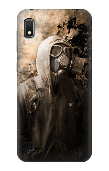Printed Gas Mask Stalker Samsung Galaxy A10 Case