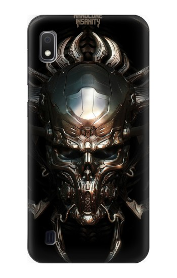 Printed Hardcore Insanity Metal Skull Samsung Galaxy A10 Case