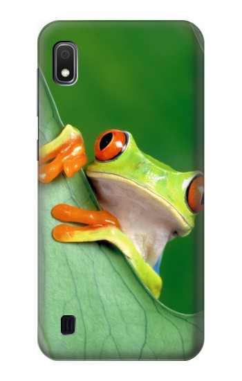 Printed Little Frog Samsung Galaxy A10 Case