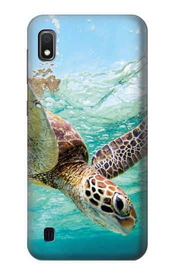 Printed Ocean Sea Turtle Samsung Galaxy A10 Case