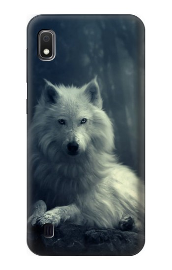 Printed White Wolf Samsung Galaxy A10 Case
