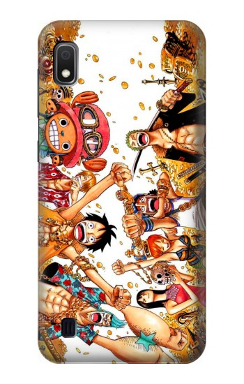 Printed One Piece Straw Hat Luffy Pirate Crew Samsung Galaxy A10 Case