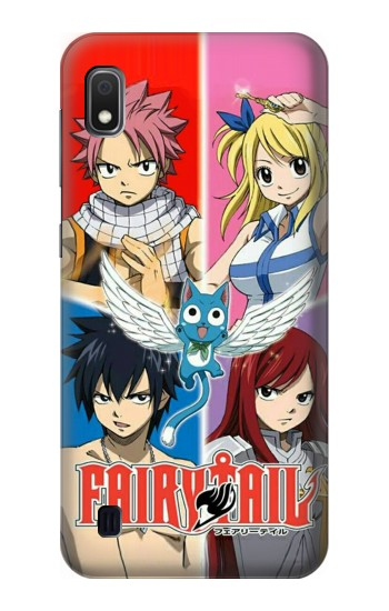 Printed Fairy Tail Member Samsung Galaxy A10 Case