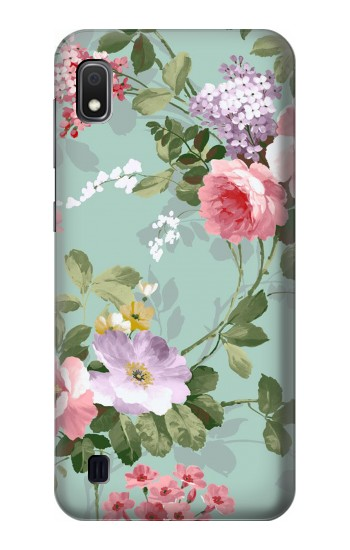 Printed Flower Floral Art Painting Samsung Galaxy A10 Case