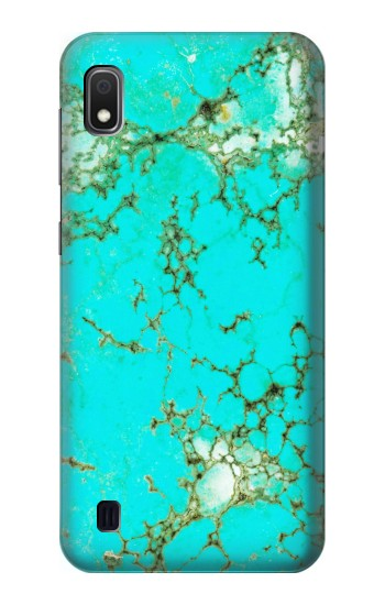 Printed Turquoise Gemstone Texture Graphic Printed Samsung Galaxy A10 Case