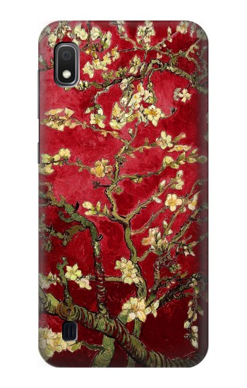 Printed Red Blossoming Almond Tree Van Gogh Samsung Galaxy A10 Case
