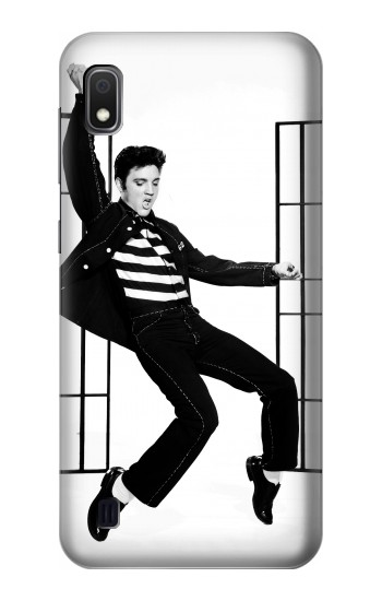 Printed Elvis Presley Jailhouse Rock Samsung Galaxy A10 Case