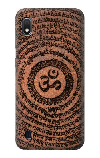 Printed Sak Yant Ohm Symbol Tattoo Samsung Galaxy A10 Case