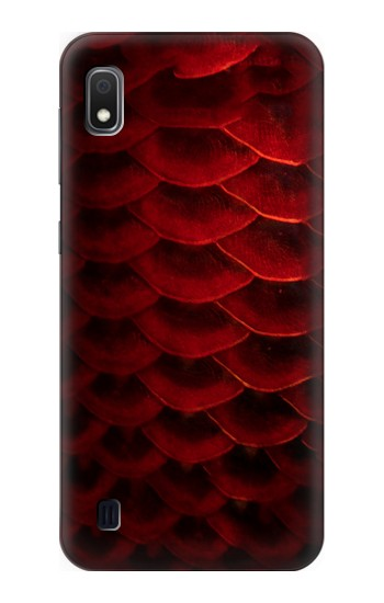 Printed Red Arowana Fish Scale Samsung Galaxy A10 Case