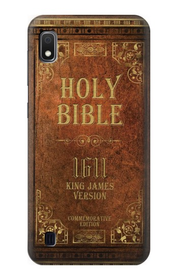 Printed Holy Bible 1611 King James Version Samsung Galaxy A10 Case