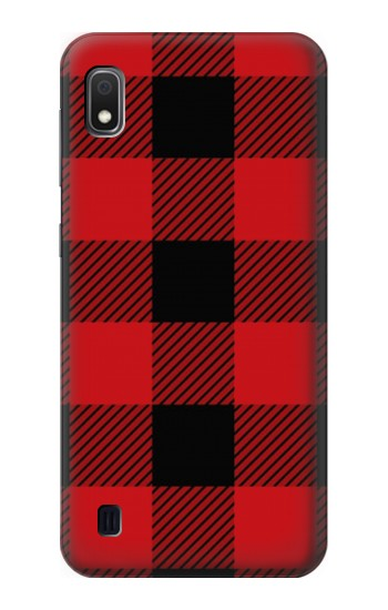 Printed Red Buffalo Check Pattern Samsung Galaxy A10 Case