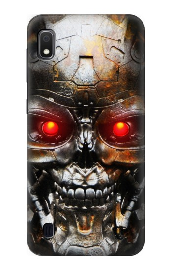 Printed Vintage Robot Skeleton Skull Head Samsung Galaxy A10 Case