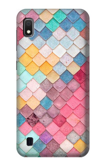 Printed Candy Minimal Pastel Colors Samsung Galaxy A10 Case