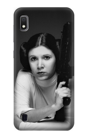 Printed Princess Leia Carrie Fisher Samsung Galaxy A10 Case