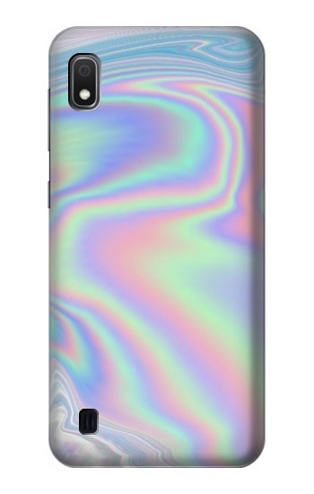Printed Pastel Holographic Photo Printed Samsung Galaxy A10 Case