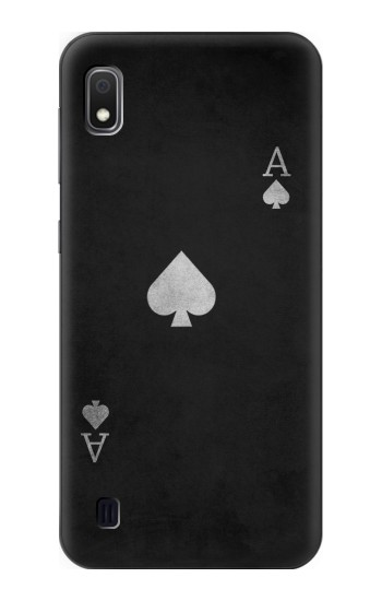 Printed Black Ace of Spade Samsung Galaxy A10 Case